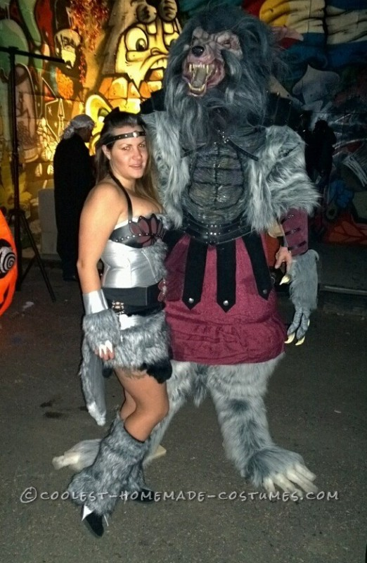Epic Warewolf Costume