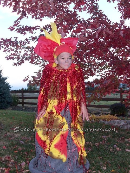 Coolest Homemade Erupting Volcano Costume Idea - 1