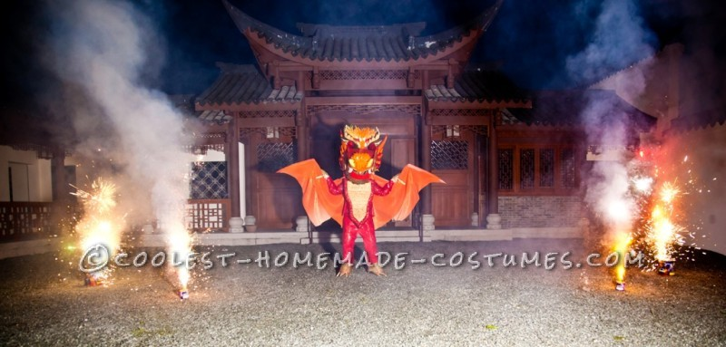 Explosive Dragon Costume - 6
