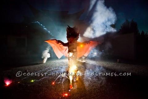 Explosive Dragon Costume