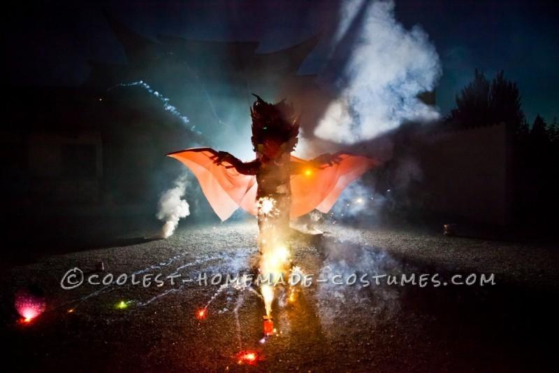 Explosive Dragon Costume - 5