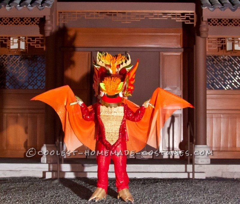 Explosive Dragon Costume