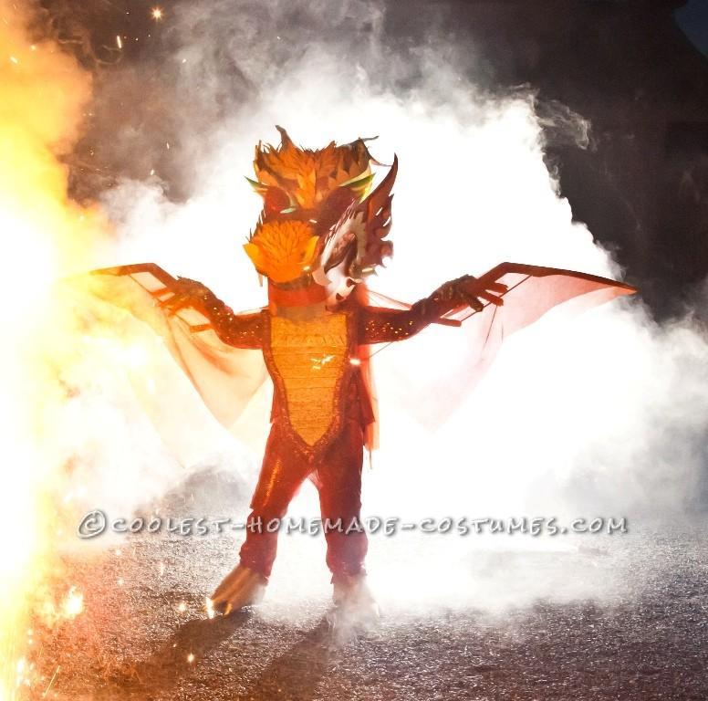Explosive Dragon Costume - 4