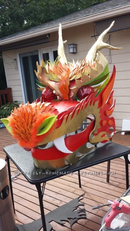 Explosive Dragon Costume - 3