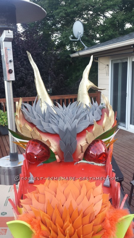 Explosive Dragon Costume - 2