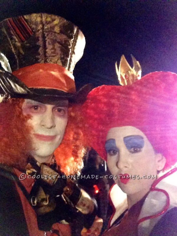 Mad Hatter Red Queen
