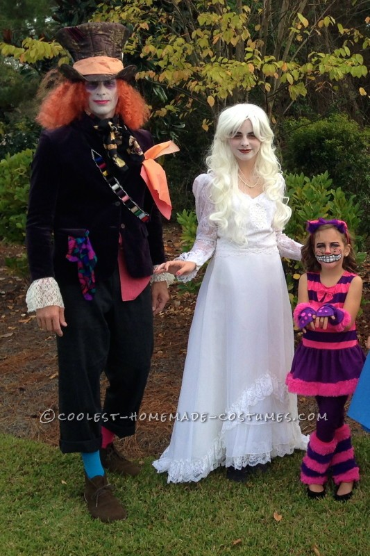 Mad Hatter White Queen Cheshire Cat