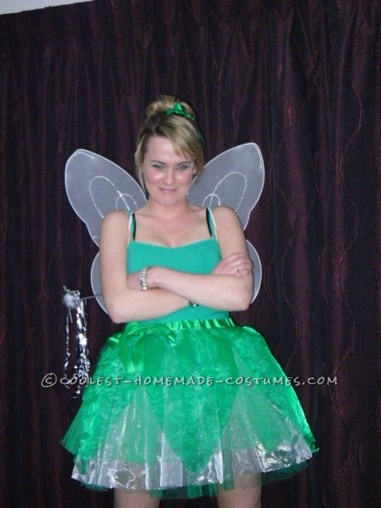 Feisty Tinkerbell Homemade Costume - 1