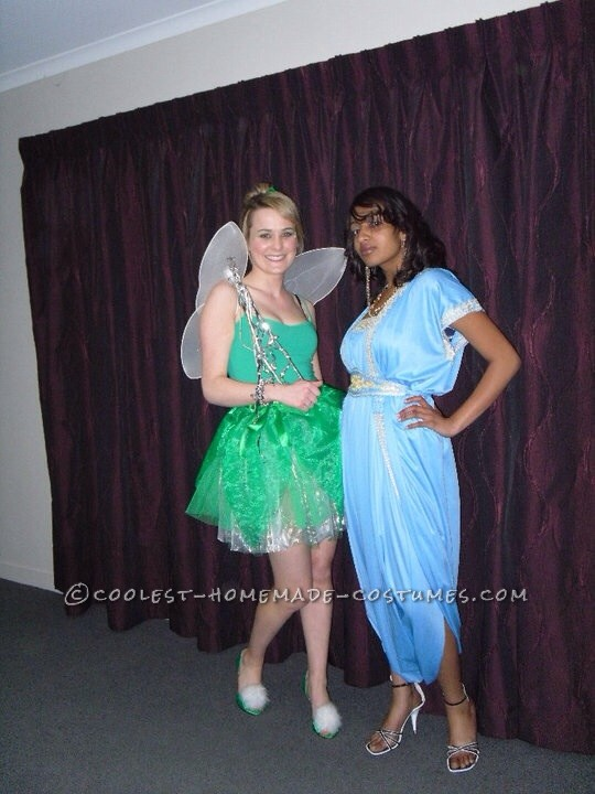 Feisty Tinkerbell Homemade Costume - 2