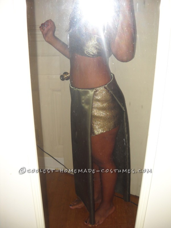 Cool Homemade Costume for a Woman: Fierce Medusa