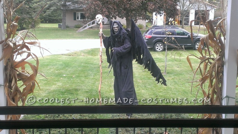 Coolest DIY Grim Reaper Costume: Free Hugs from Death - 1