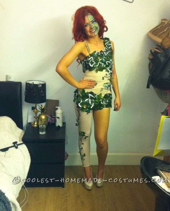 No-Cost Sexy Homemade Poison Ivy Costume!