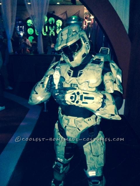 My Costume From Dream to Reality: I am Master Chief! - 3
