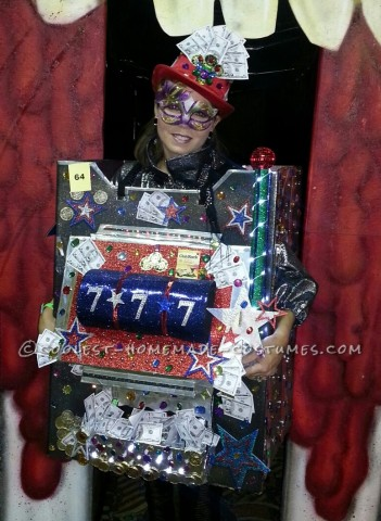 Fun and Easy Casino Slot Machine Costume
