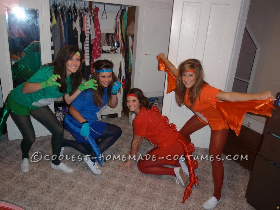 Fun and Easy Sexy Dinosaur Group Halloween Costume