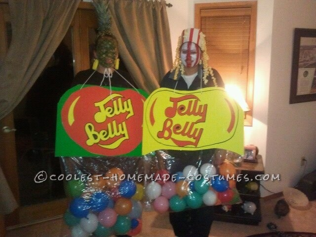 Flavored Jelly Belly Costume