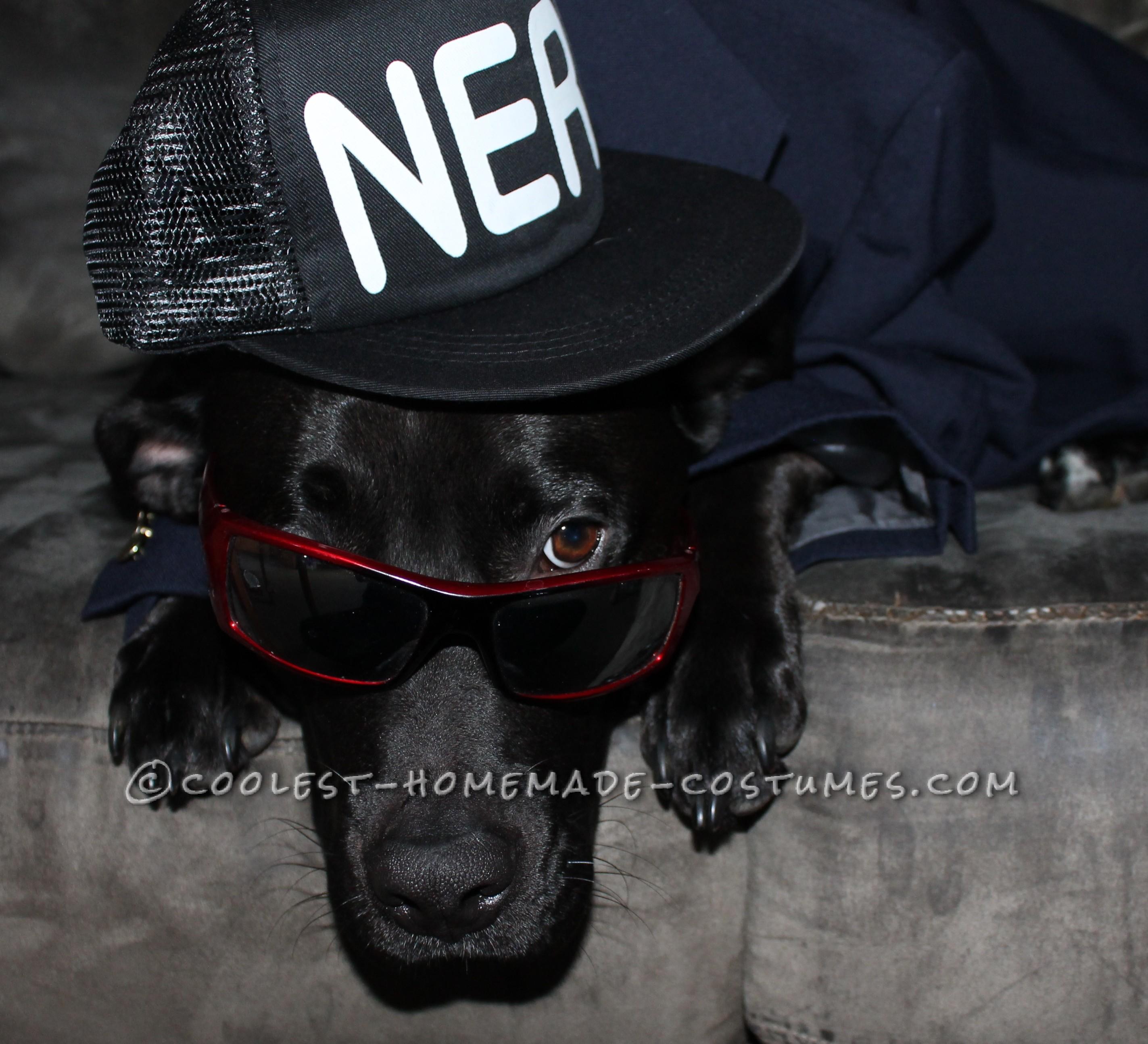 Gangster Dog Costume