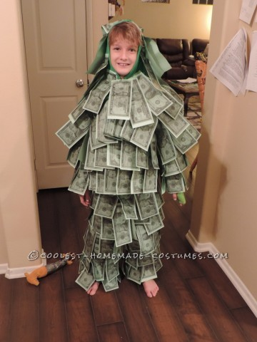 Homemade Geico Made of Money Commercial Kids Costume