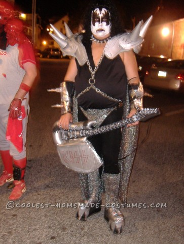 Homemade Gene Simmons Costume