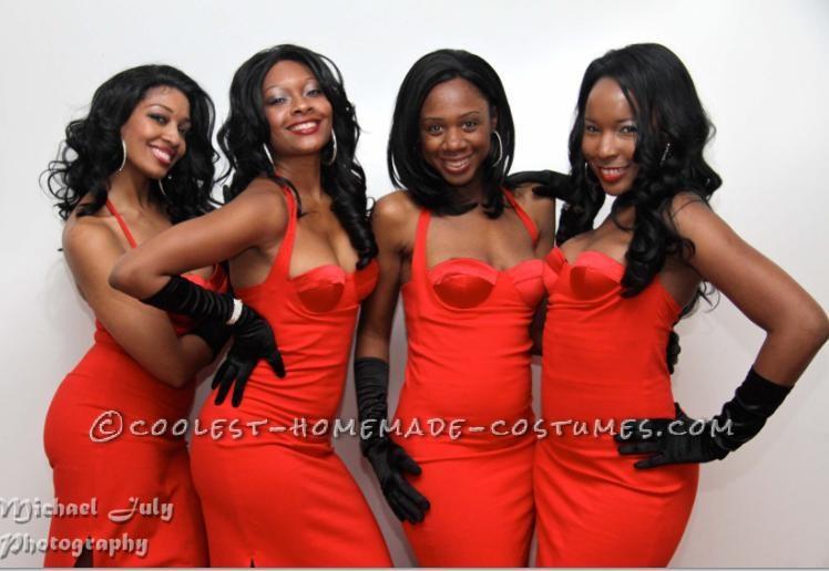 Sexy All-Girl Group DIY Costume: En Vogue!