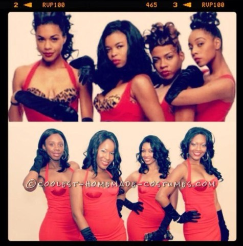 Sexy All-Girl Group DIY Costume: En Vogue!