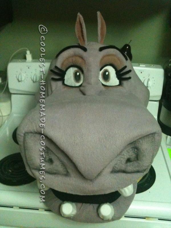 Coolest Homemade Gloria the Hippo Costume - 1