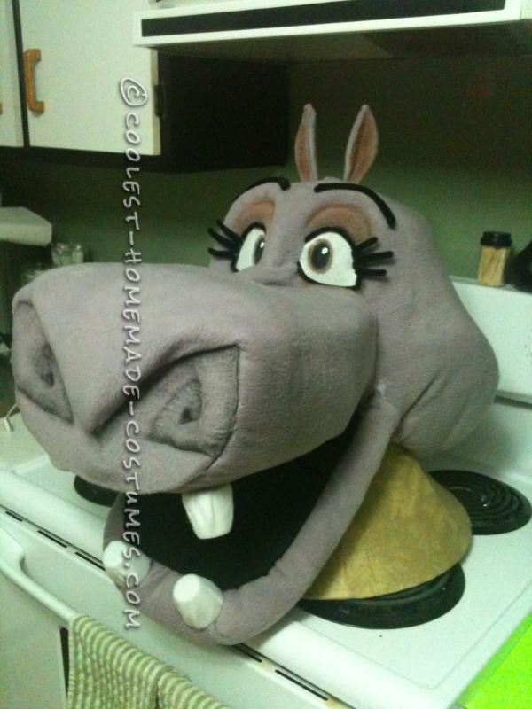 Coolest Homemade Gloria the Hippo Costume - 2
