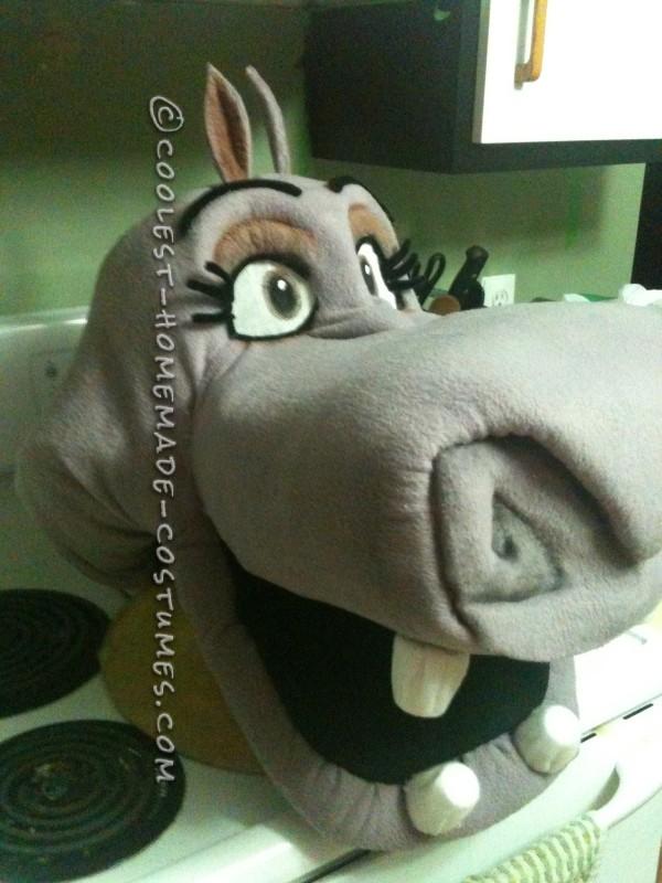 Coolest Homemade Gloria the Hippo Costume - 3