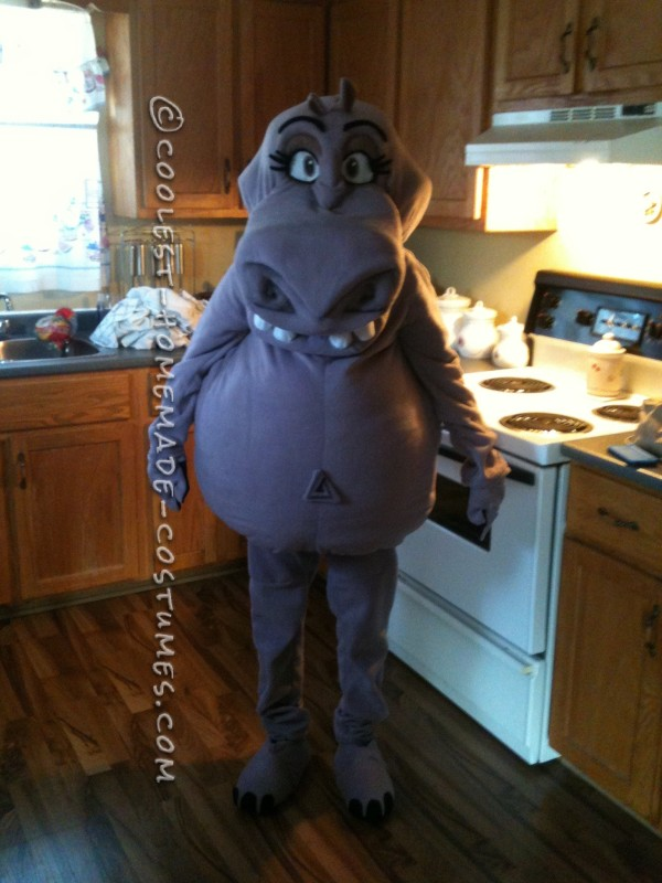 Coolest Homemade Gloria the Hippo Costume