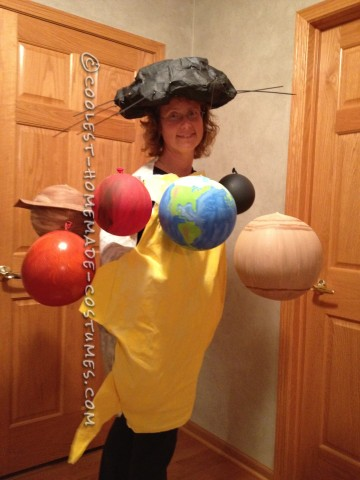 Coolest Homemade Solar System Costume
