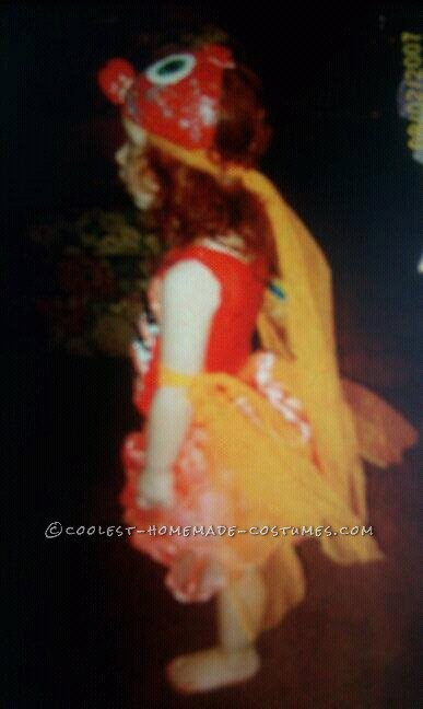 Cool Handmade Goldfish Costume for a Girl - 3