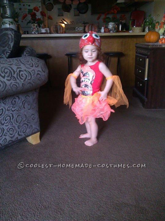 Cool Handmade Goldfish Costume for a Girl - 1