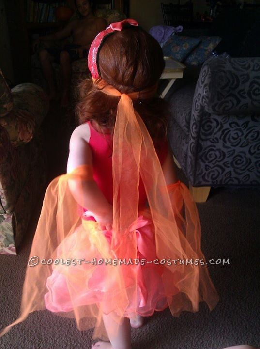 Cool Handmade Goldfish Costume for a Girl - 2