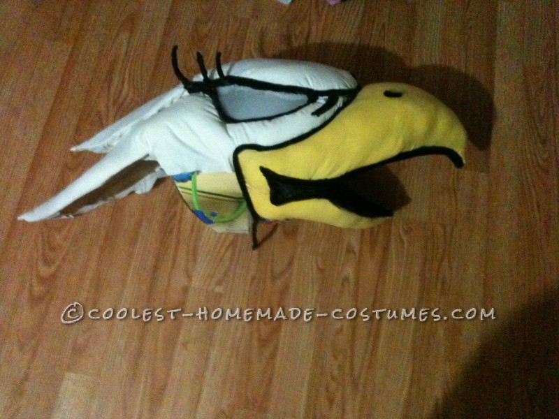 Entirely Homemade Hawkettes Mascot Costume - 2