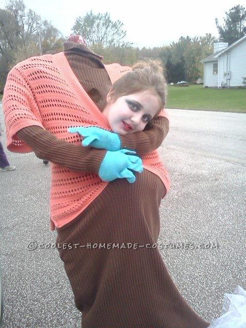 DIY Headless Girl Costume