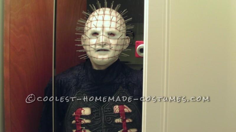 Coolest Homemade Hellraiser Pinhead Costume - 2