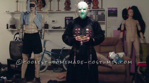 Coolest Homemade Hellraiser Pinhead Costume