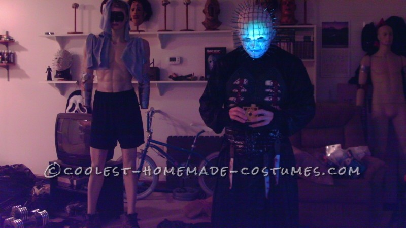 Coolest Homemade Hellraiser Pinhead Costume - 1