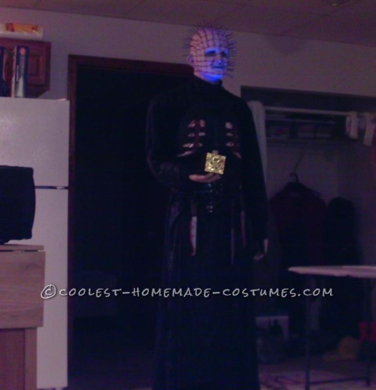 Coolest Homemade Hellraiser Pinhead Costume
