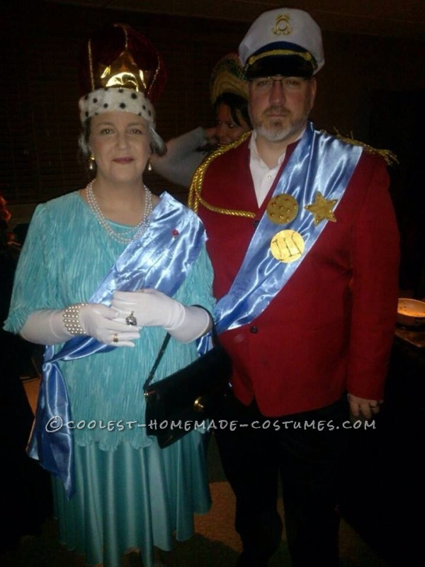 Regal Couple Costume Idea: Her Royal Majesty Queen Elizabeth II and His Royal Highness Prince Phillip