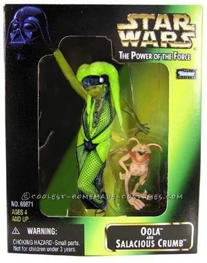 Cool Homemade Oola the Twi'lek Costume from Return of the Jedi - 1