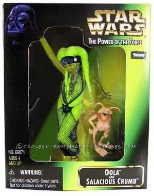 Cool Homemade Oola the Twi'lek Costume from Return of the Jedi