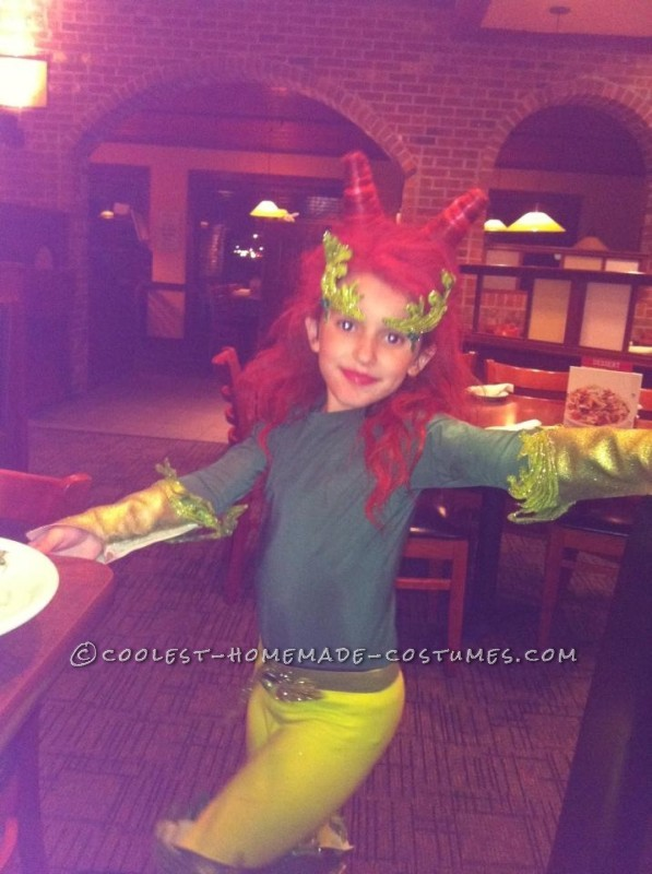 Cool poison ivy costume from Batman and Robin