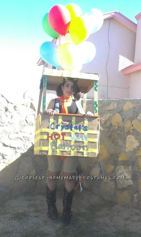 Homemade Hot Air Balloon Costume that Cost Nothing to Make! - 1