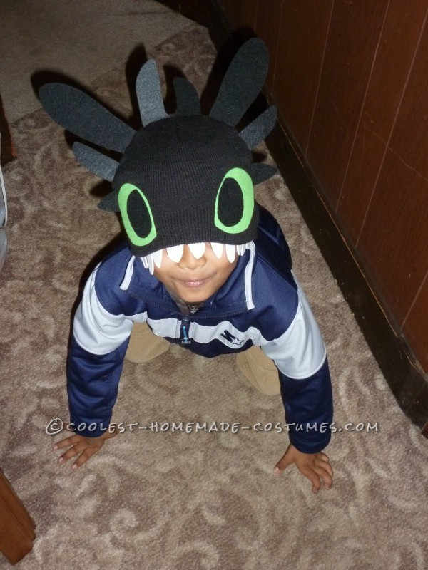 Father/Son DIY Costume: How to Train Your [Husband to be a] Dragon, and His Trainer!