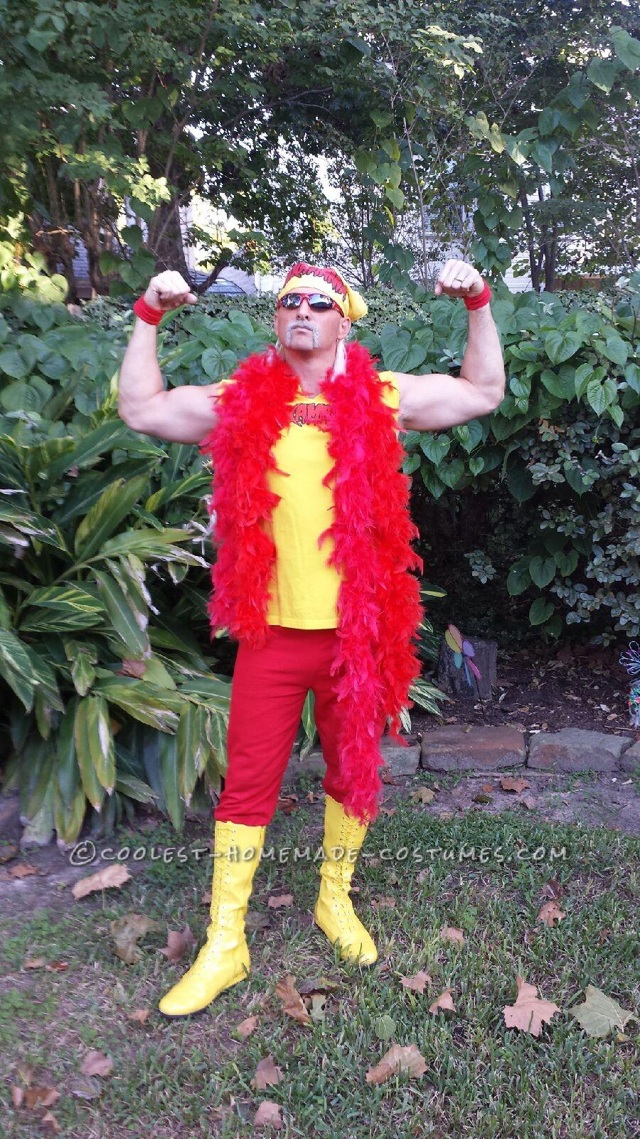 Coolest Hulk Hogan Costume Idea