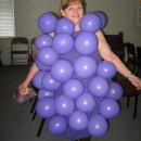 Fun and Easy Homemade Costume Idea: I Heard it Through the Grapevine!