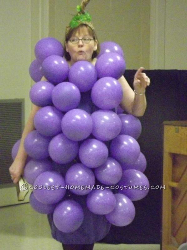 Fun and Easy Homemade Costume Idea: I Heard it Through the Grapevine! - 1