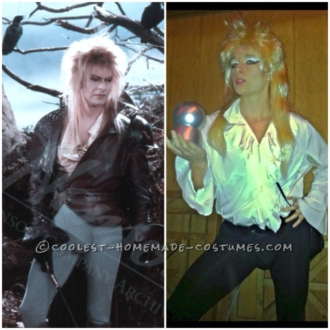 Cheap and Easy Last-Minute David Bowie Costume from Labyrinth
