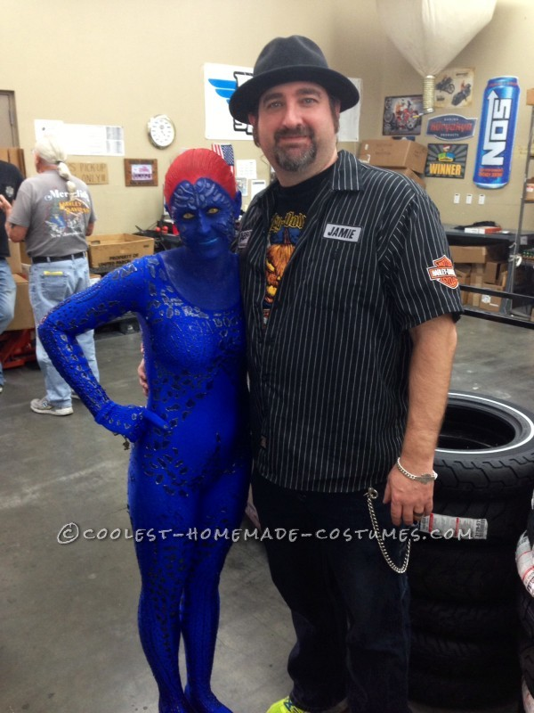 The Mystique Costume That I Spent 4 Months Planning For! - 5